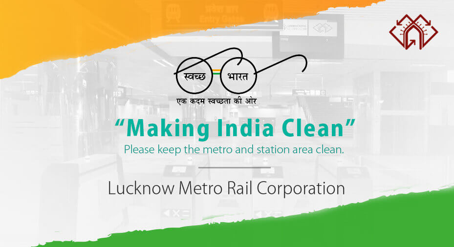 Lucknow Metro Map.Lucknow Metro Rail Corporation Official Website Of Lmrc